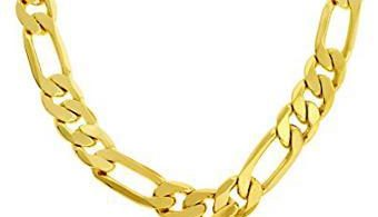 chaine or homme 24 carat