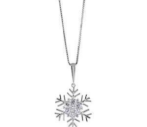 collier flocon de neige