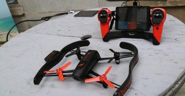 drone camera parrot
