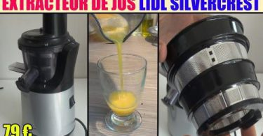 extracteur de jus test