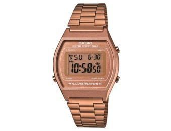 montre casio or rose