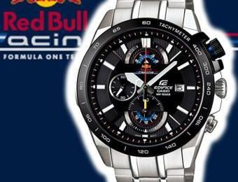 montre casio red bull