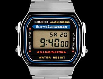 montre casio retro