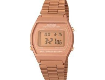 montre casio rose gold