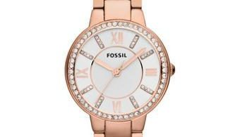 montre fossil rose gold