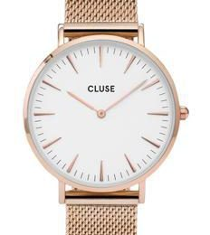 montre or rose cluse
