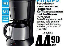 percolateur isotherme